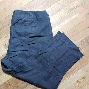 Apt 9 capris gray modern fit size 16 - AT